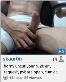 flash chat anal homoseksuell cum